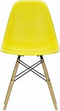 Vitra Eames DSW Stuhl Mit Gelblichem Ahorn