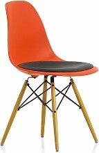 Vitra Eames DSW Stuhl Mit Sitzkissen (b) 46.5 X