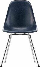 Vitra Eames DSX Fiberglass Stuhl Mit Verchromtem