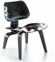 Vitra Eames LCW Calf's Skin Loungestuhl (b)