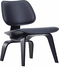 Vitra Eames LCW Leather Loungestuhl