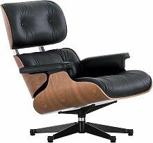 Vitra Eames Lounge Chair Nussbaum Schwarz