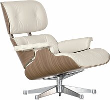 Vitra Eames Lounge Chair Sessel Weiß (b) 84.00 X