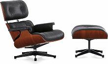 Vitra - Eames Lounge Chair XL & Ottoman Mahogany,