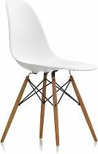 Vitra - Eames Plastic Side Chair DSW, Esche