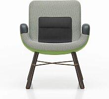 Vitra East River Chair Sessel Stoffmix Grün (b) 64.00 X (t) 71.00 X (h) 74.00 Cm