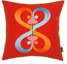 Vitra - Embroidered Kissen Double Heart, 40 x 40