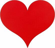 Vitra Little Heart Wanddekoration (b) 27 X (t) 4.2