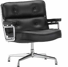 Vitra Lobby Chair ES 105 Sessel SchwarzLeder(b) 75