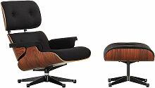 Vitra - Lounge Chair & Ottomann, Santos