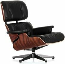 Vitra - Lounge Chair, poliert / Seiten schwarz,