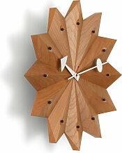 Vitra - Nelson Fan Wanduhr, kirsch