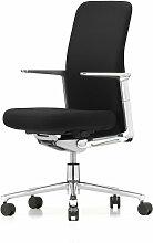 Vitra - Pacific Chair mittelhoch, Alu-Armlehnen