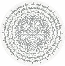 Vitra Round Lace Tischdecke 120 Grau (Ø) 130 Cm