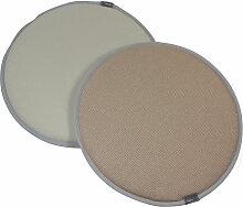 Vitra - Seat Dots Sitzauflage, pergament / crèmeweiss