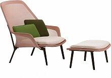 Vitra Slow Chair Mit Ottoman Loungestuhl