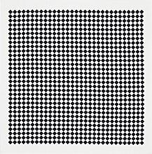 Vitra Square Checker Tischdecke Schwarz (b) 120 X