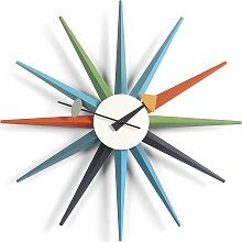 Vitra Sunburst Clock Wanduhr Multi Colour (Ø)
