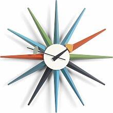Vitra Sunburst Clock Wanduhr Multi Colour (Ø) 47