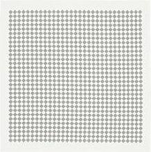 Vitra - Tischdecke, 120 x 120 cm, Checker / grau