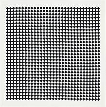 Vitra - Tischdecke, 120 x 120 cm, Checker / schwarz