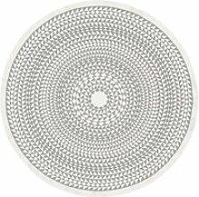 Vitra - Tischdecke Ø 130 cm, Geometric / grau