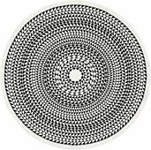 Vitra - Tischdecke Ø 130 cm, Geometric / schwarz