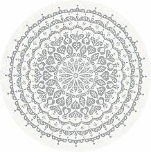 Vitra - Tischdecke Ø 130 cm, Lace / grau