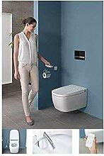 Vitra V-Care Comfort Spülrandloses Dusch-WC mit