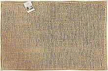 Viva Acqua Teppich Polyester beige 60 x 100 x 0,60