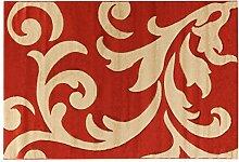 Viva Palazzo ABC Teppich rot/beige 120 x 170 cm