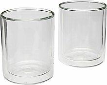 VIVA scandinavia Coffeeglas 2er-Set, Kaffee-Glas