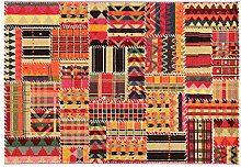 Viva Tangeri 3 ABC Teppich Mehrfarbig 133 x 190