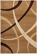 Viva Terra Teppich Synthetikfaser beige/braun 120