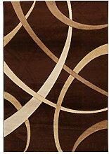 Viva Terra Teppich Synthetikfaser braun/beige 120