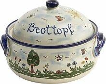 vivApollo Brottopf Brotkasten Brotkorb Original