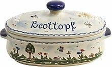 Vivapollo Original Brottopf Brotkasten Keramik