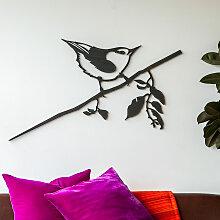 Vivara Metalbird XXL Wanddekoration Kleiber