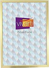 Vivarti Bilderrahmen, A2, 59,4 x 42 cm, goldfarben