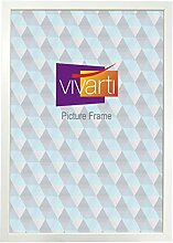 Vivarti Bilderrahmen, A2, 59,4 x 42 cm, Mattweiß