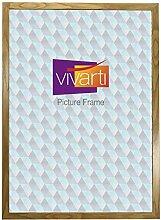 Vivarti Eiche Farbe Bilderrahmen, 60 x 80 cm,