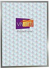 Vivarti Schmal Silberfarben Bilderrahmen, A1