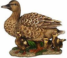 Vivid Arts Blumentopf PAL Range–Ente mit Entchen