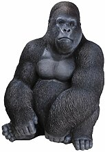 Vivid Arts Blumentopf PAL Range–Sitzender Gorilla