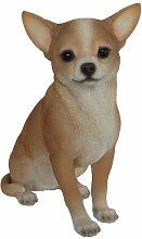 Vivid Arts Chihuahua Hund, Kunstharz Gartendeko