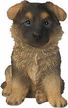 Vivid Arts Figur Schäferhund Welpe Pet Pals
