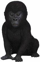 Vivid Arts Gorilla-Baby, Kunstharz Gartendeko