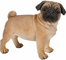Vivid arts- Hunde & Katzen Pet pals- Real Life stehender Mops (Größe A)