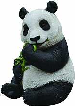 Vivid Arts NF-PNDA-B, Panda, Kunstharz Gartendeko