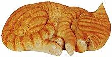 Vivid Arts – Plant-Pal-Reihe–Ingwerfarbene schlafende Katze